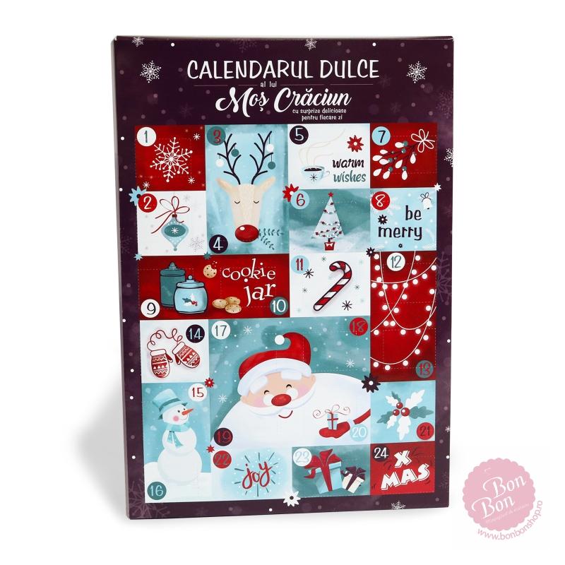 Calendar advent dulciuri